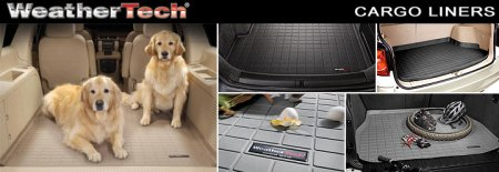 WeatherTech Cargo liner for complete trunk and cargo area protection
