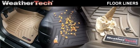 Weathertech Floor Liner has channels to carry fluids and debris to a lower reservoir