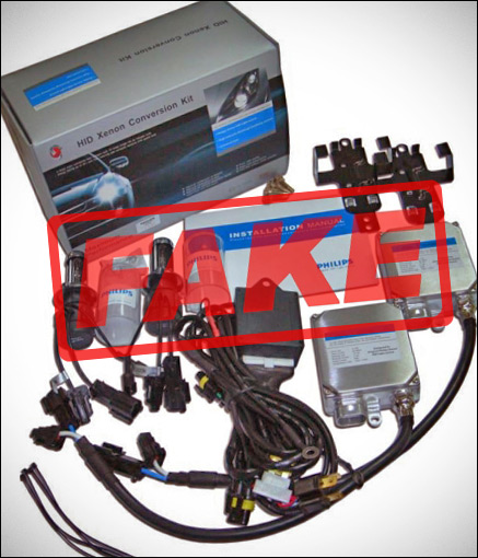 Fake Philips HID Kit