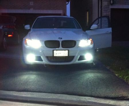 BMW 325i HID Kit