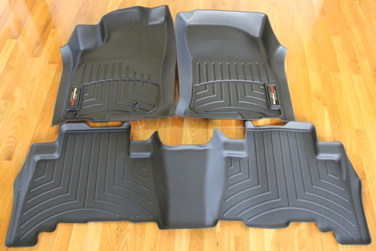 weathertech floor liners & mats. premium quality! free shipping