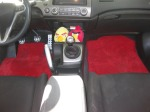 Honda Civic Lloyd Ultimats Flame Red Floor Mats