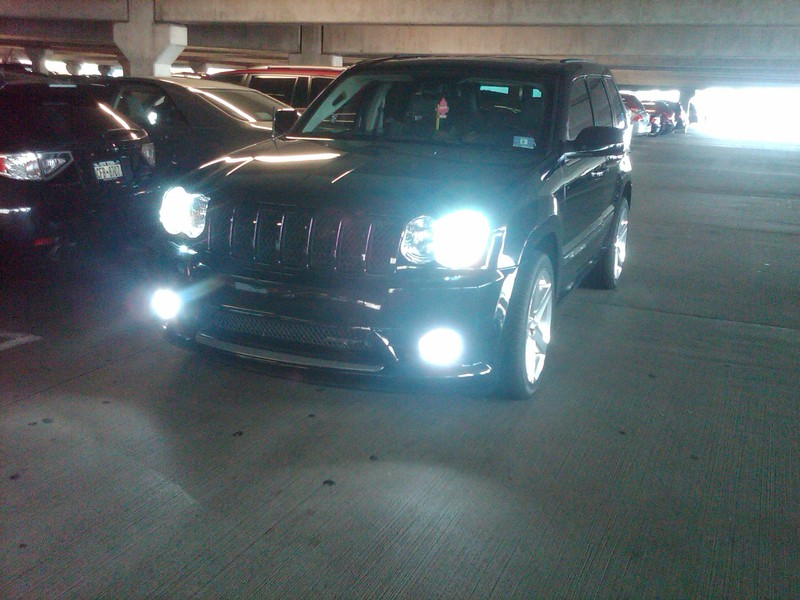 2006 Jeep Grand Cherokee SRT 8 Volt HID Kit