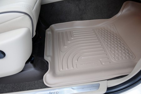 Tan Husky liners in 2011 Grand Cherokee