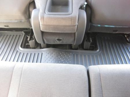 Husky Floor Liners in Honda Odyssey
