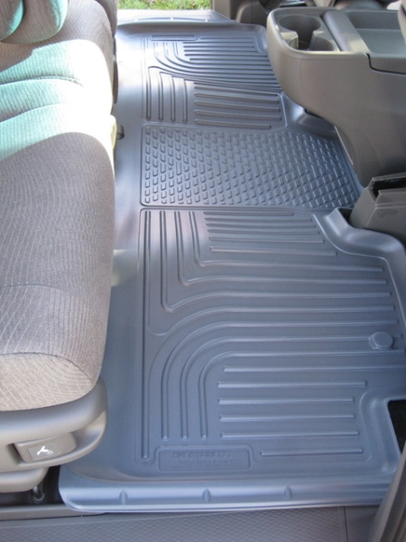 Husky Weatherbeater Floor Liners installed in Odyssey