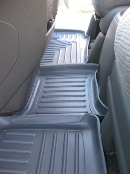 Husky liners in back seat of 2011 Odyssey