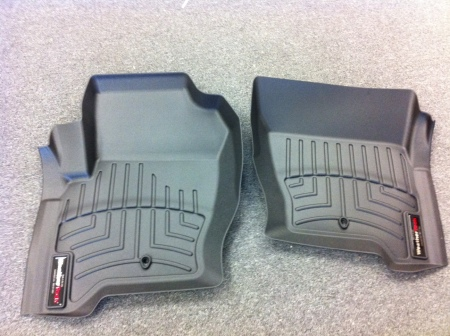 WeatherTech Liners in black