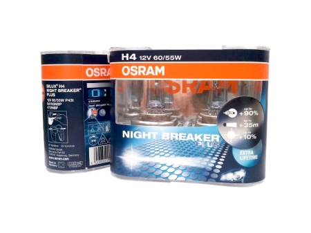 Genuine Osram automotive halogen bulbs