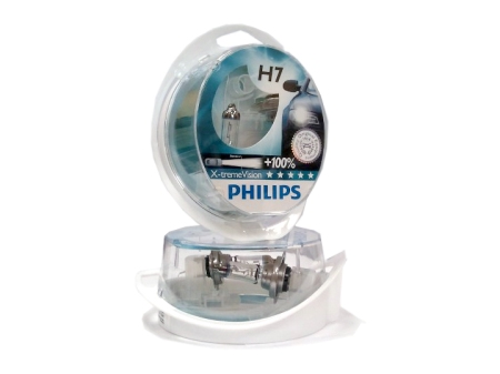 Genuine Philips automotive halogen bulbs
