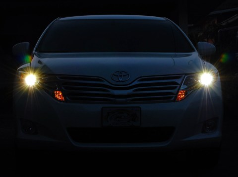 HID Kit installed in Toyota Venza
