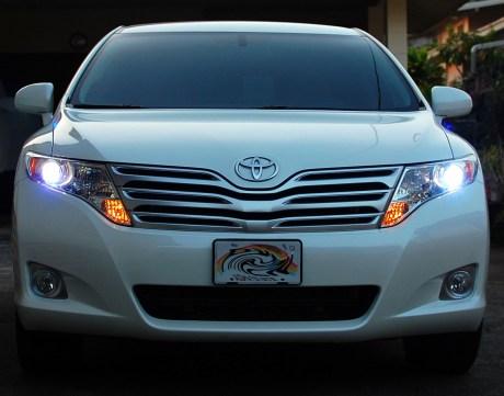 4300k XenonDepot HID kit in Toyota Venza